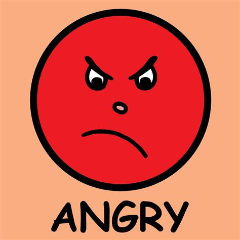 emoji ngambek really angry face emoticon clipart best clipart best