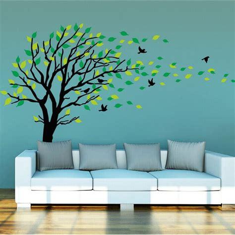 tree and bird wall stickers tree wall sticker with birds