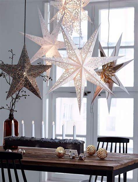 decorative stars for homes best 25 white christmas ideas on pinterest white