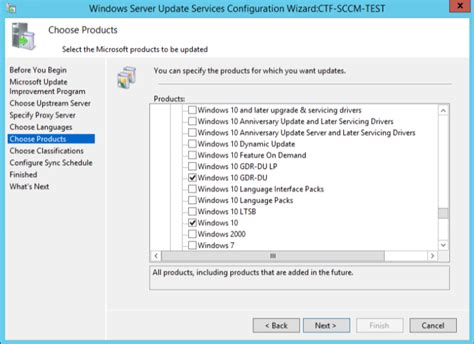 install windows 10 via wsus wsus difference between windows 10 and windows 10 gdr du