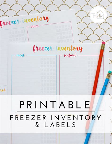 printable freezer labels organizing the freezer with free printable freezer