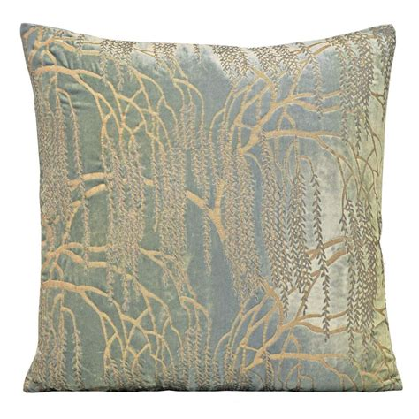 metallic willow velvet dec pillow bedding