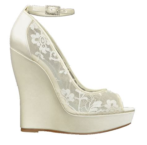 Special Wedding Shoes by What Is Special About Wedge Wedding Shoes Styleskier