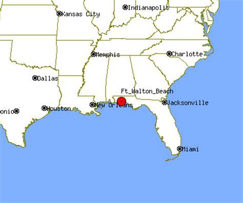 ft walton florida map ft walton profile ft walton fl