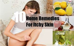 10 home remedies for itchy skin treatments