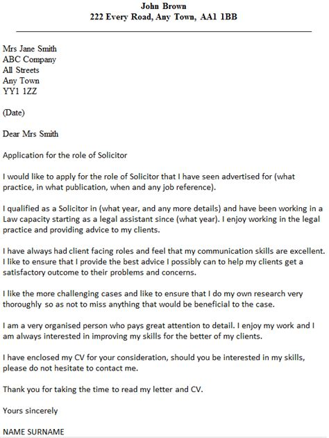 Cover Letter Advice 2014 Solicitor Cover Letter Exle Icover Org Uk