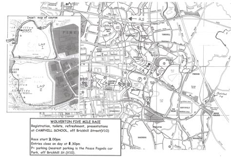 map uk wolverhton the wolverton 5 mile road race