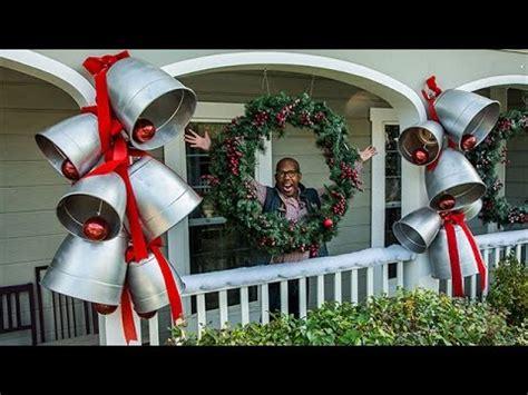diy giant christmas bells how to ken wingard s diy silver bells hallmark channel