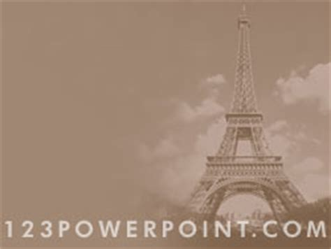 royalty free eiffel tower paris powerpoint background in