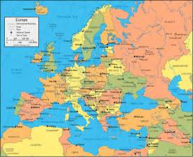 Countries In Europe Map by Physical Map Of Europe Europe Political Map Geology Com