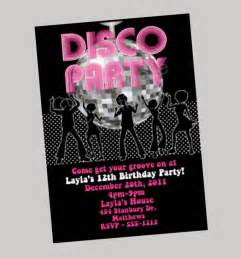 articles similaires 224 hip hop disco invitation boule disco anniversaire invitations