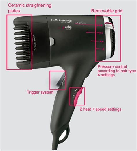 Hair Dryer Carrefour rowenta for elite lissima clip press hairdryer 1800w