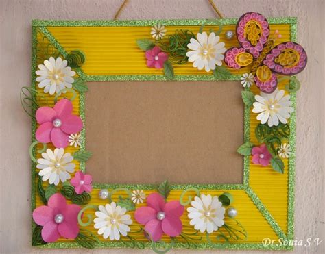 Handmade Photo Frame Design - joyful ster inspire me fridays 45 anything goes