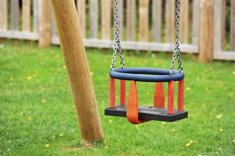 swing cradle cradle swings single or double bays playground equipment
