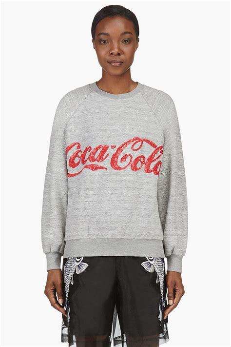 Bj 122 Leopard Dress With Belt Gray ashish grey coca cola edition raglan sweater