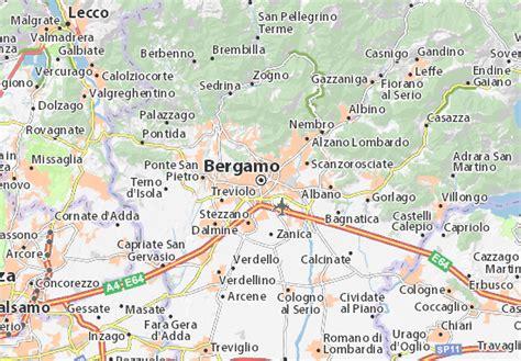 d italia bergamo mappa bergamo cartina bergamo viamichelin
