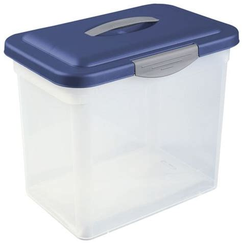 sterilite showoffs storage container sterilite large showoffs storage container blue eclipse