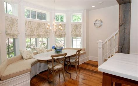 Kitchen Bay Window Treatment Ideas How To Utilize The Bay Window Space