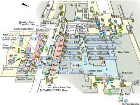 jr east guide maps for major stations shinjuku station