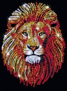 Pinterest Christmas Craft Ideas For Adults - sequin art lion craft kit by ksg sa1207 ebay