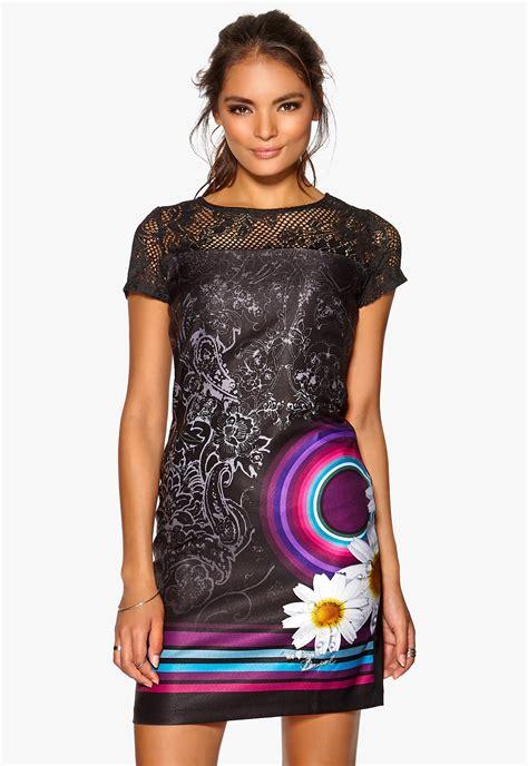 Dress Se desigual galactic dress negro bubbleroom
