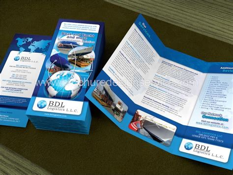 brochure template logistics transport brochures templates inspiration sles