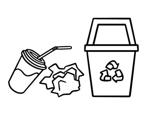 dibujos de reciclaje para colorear az dibujos para colorear dibujo de reciclar papel para colorear dibujos net
