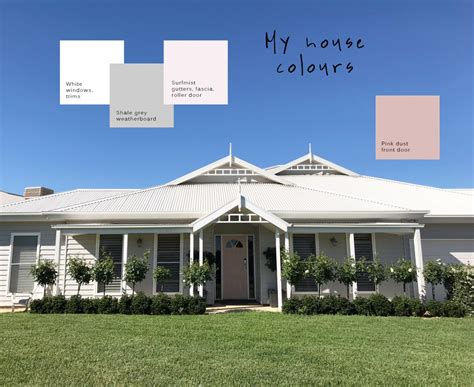 gray house colors grey weatherboard house colours