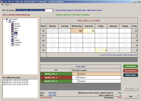 access timesheet database template ms access stock data base images frompo 1