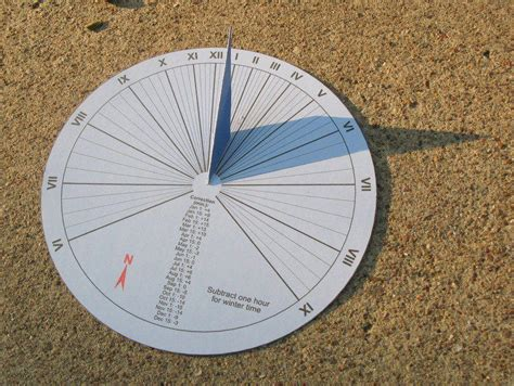 How To Make A Sundial With A Paper Plate - 15 minute paper craft sundial get up and diy