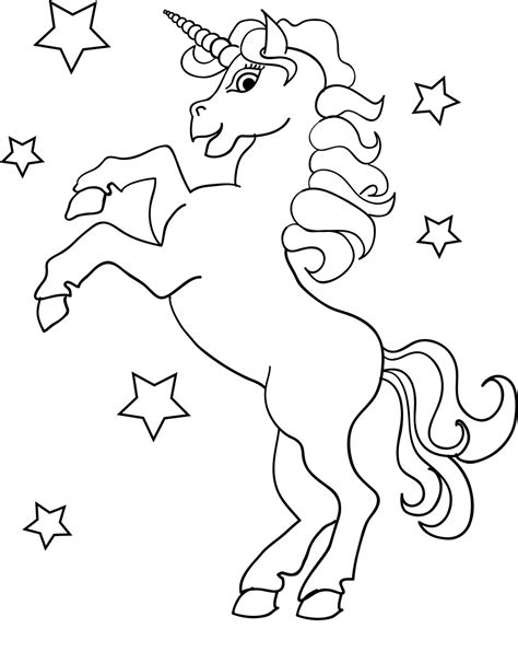 unicorn pictures to color unicorn color page high quality kiddo shelter
