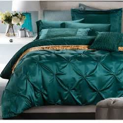 King Size Turquoise Quilt Aliexpress Buy European Luxury Satin Washed Silk
