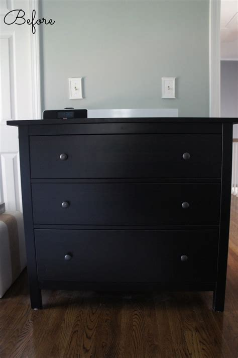 White And Brown Dresser by Pretty Dresser Black On It Went From Black Brown To