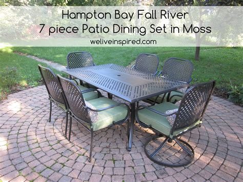 Inspirational 20 Hton Bay Fall River 7 Piece Patio Fall River 7 Patio Dining Set