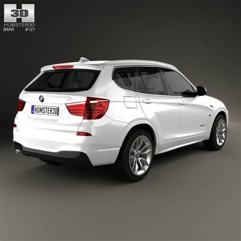bmw x3 m package bmw x3 m sport package f25 2014 3d model humster3d