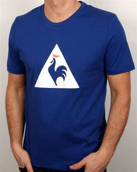 Kaos Le Coq Sportt Shirt le coq sportif essentiels logo t shirt royal blue s cotton
