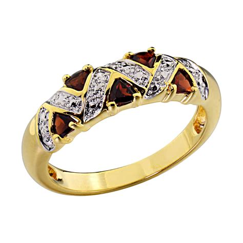 14k gold plated s wedding engagement ring trillion