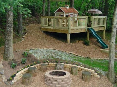 how to fix a sloped backyard backyard fix best sloped backyard ideas on sloping