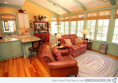 Warm And Cozy Living Room Ideas - 15 warm and cozy country inspired living room design ideas