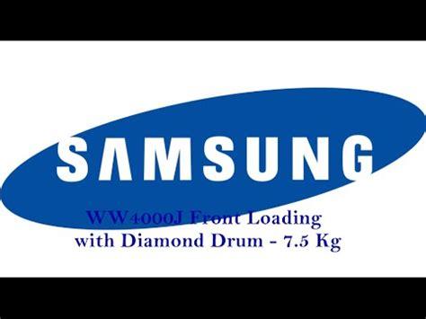 Samsung Ww4000j ww4000j front loading with drum 7 5 kg samsung washing machine