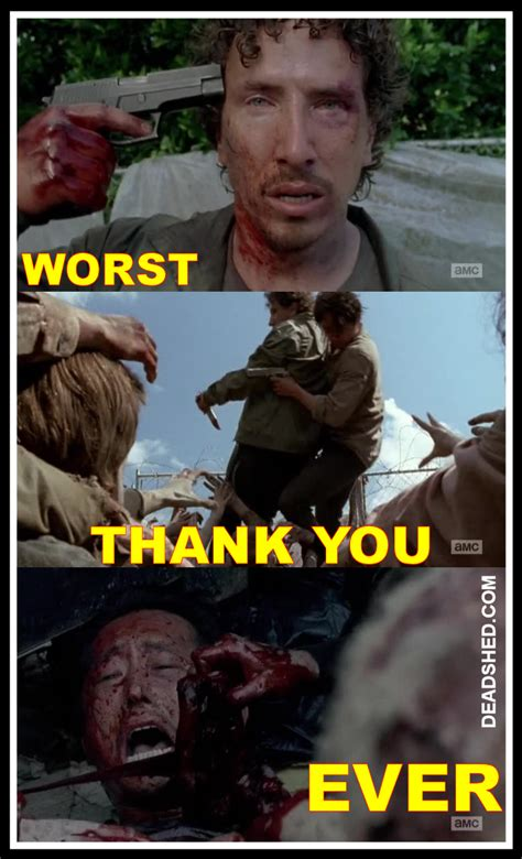 Glenn Meme - contains spoilers twd 6x03 quot thank you quot episode discussion