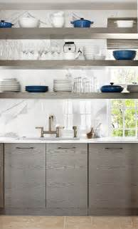 Kitchen Cabinets Shelves by Kitchens With Open Shelves Simplified Bee
