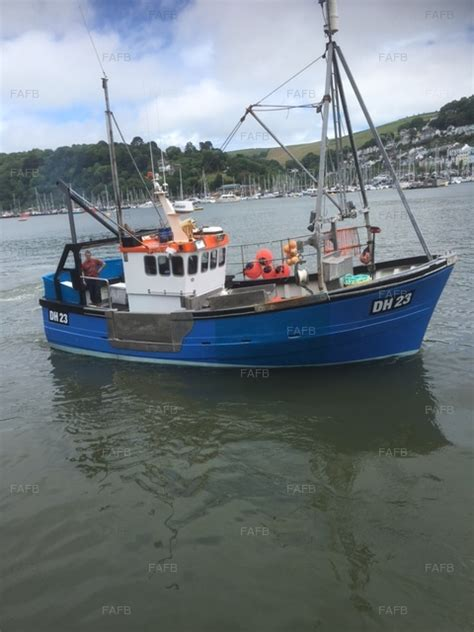 fishing boats for sale brixham cygnus gm33 brixham devon fafb