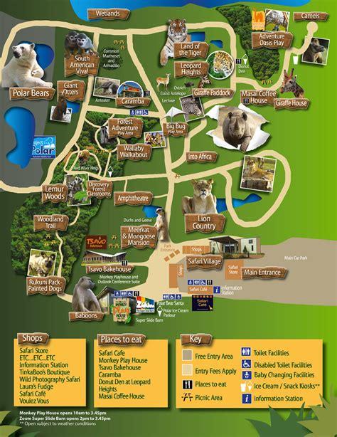 discount vouchers doncaster wildlife park park map yorkshire wildlife park