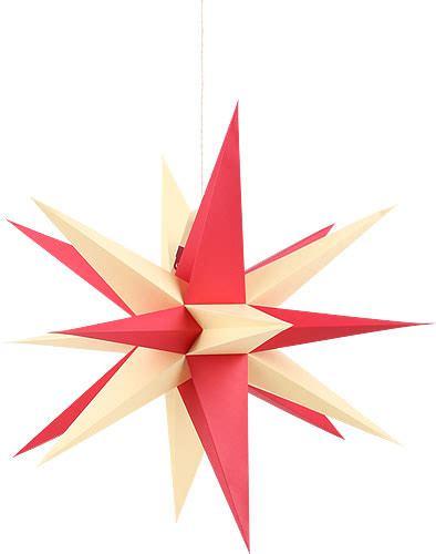 Sterne Als 3230 by Annaberger Faltstern F 252 R Innen Mit Rot Gelben Spitzen 35