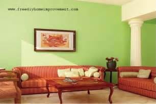 Home decor interior green color painting ideas for painting walls