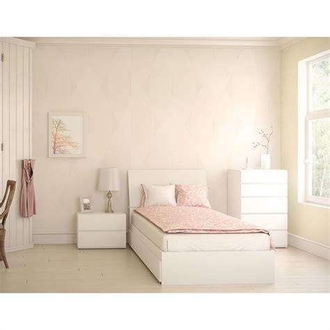 4 piece bedroom set 4 piece 39 quot bedroom set in white 400435 set