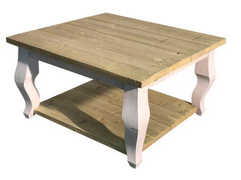 steigerhout salontafel outlet salontafel van oud steigerhout afm l80xb80xh46cm
