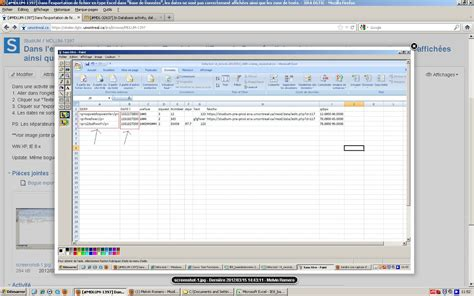 csv wrong format mdl 32637 in database activity export dates as