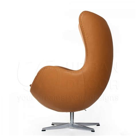 Leather Egg Chair Replica by Egg Chair Leather Replica